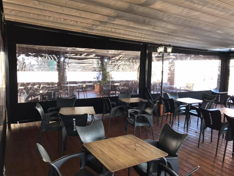 Cerramiento Terraza De Bar Toldos Y Tapicerías De La O